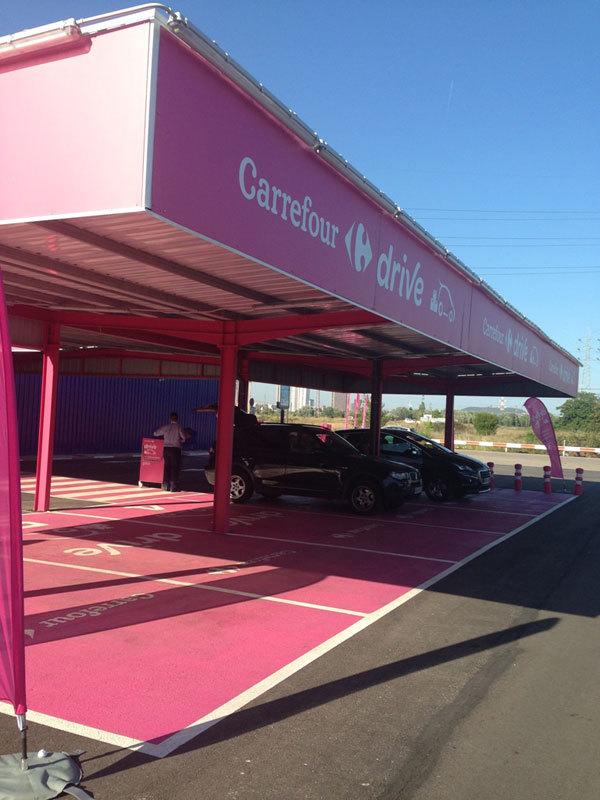 Apre a Barcellona il primo Carrefour Drive