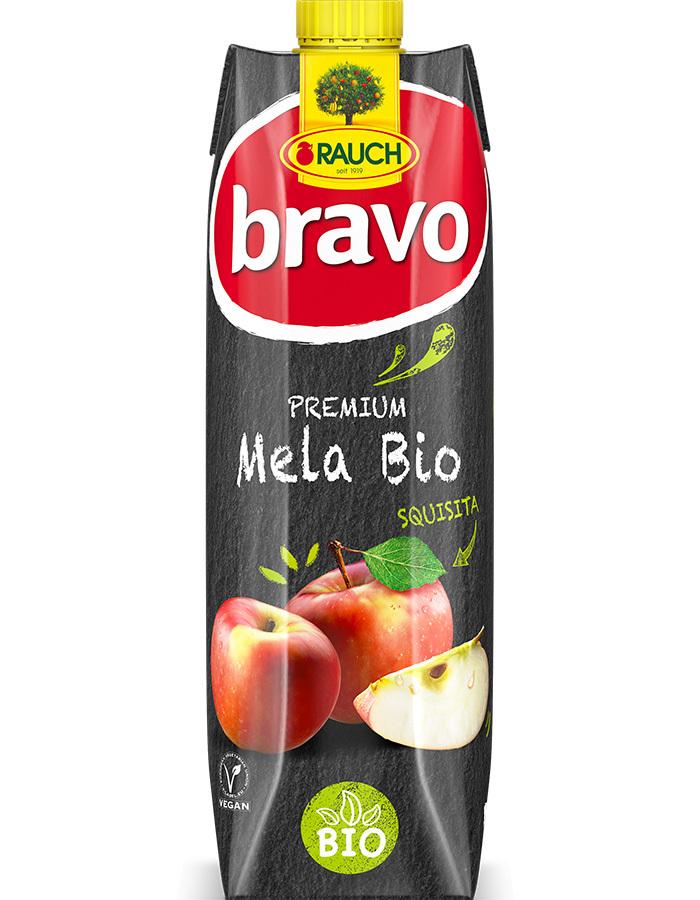 Rauch presenta sul mercato italiano il succo 100% mela bio