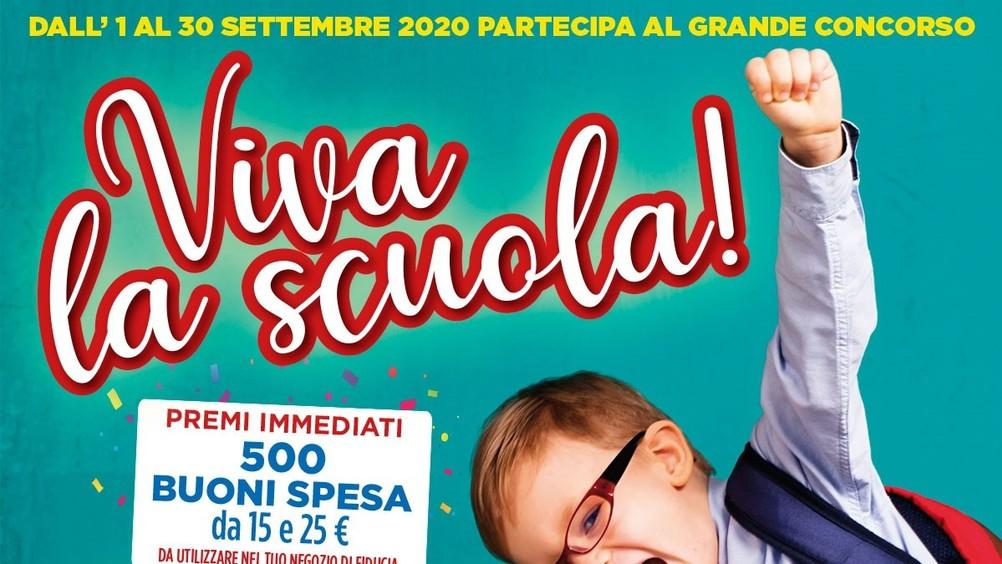 """Gruppo Crai: le insegne drug supportano il """"back to school"""" con il concorso """"Viva la scuola"""""""
