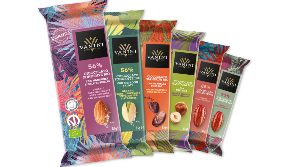 Passione per il gusto, amore per il pianeta! È arrivata la nuova linea di tavolette di cioccolato monorigine Uganda, firmata Vanini