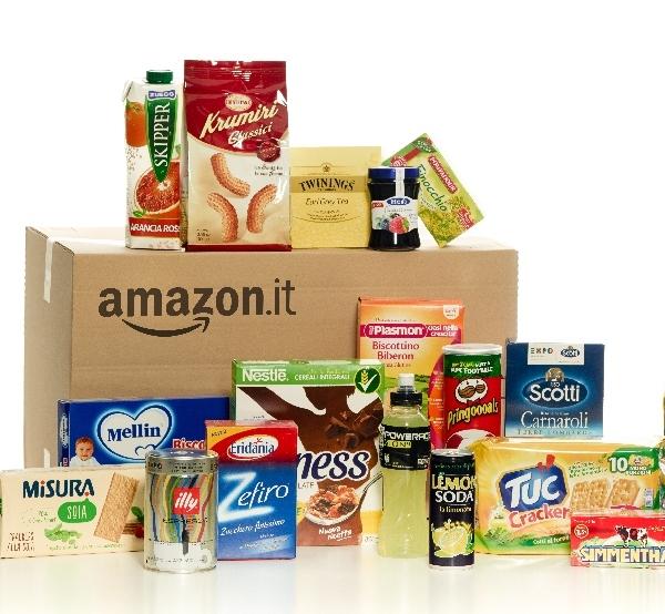 Amazon Italia entra nell'alimentare e nel cura casa