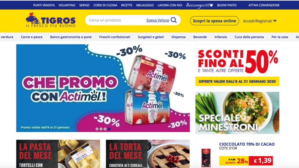 Tigros affida a ReStore Media la gestione degli spazi del proprio sito ecommerce