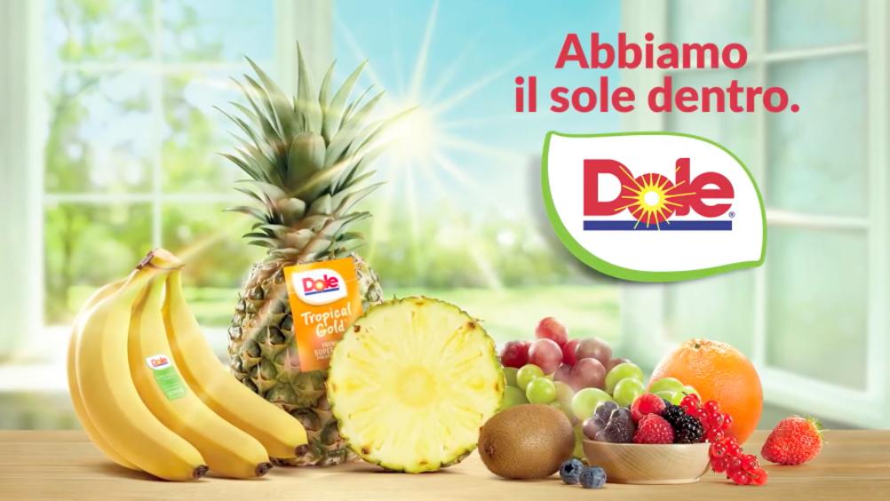 Dole Italia sbarca in tv con la nuova campagna istituzionale