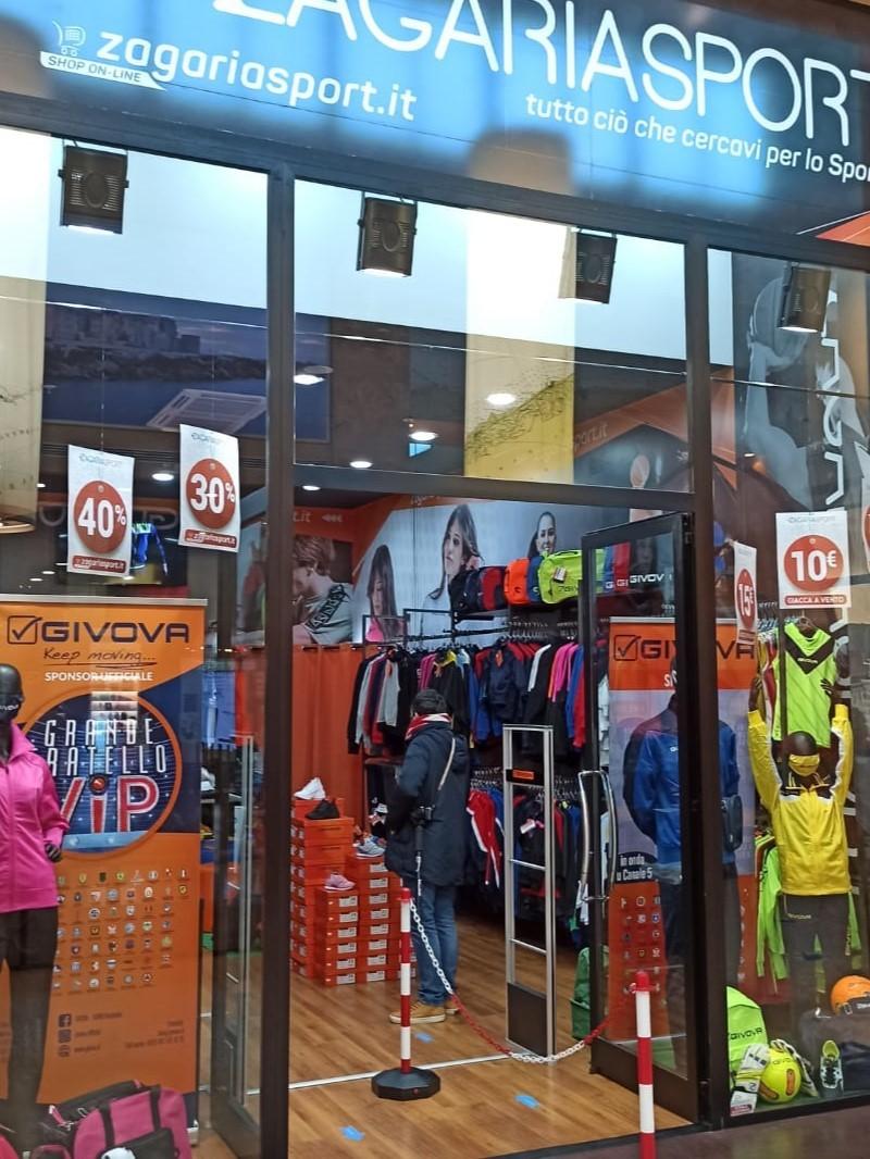 Zagaria sport apre al Gran shopping Mongolfiera di Molfetta