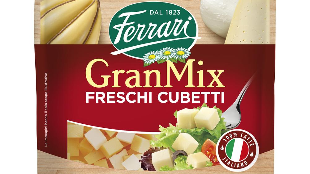 Ferrari Formaggi presenta GranMix Freschi Cubetti