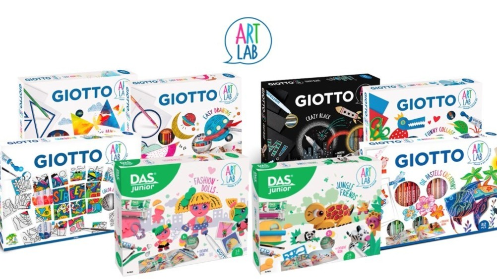 ​Gli Art Lab di F.I.L.A. firmati Giotto e Das Junior arrivano in TV