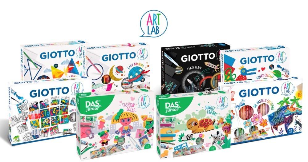 Gli Art Lab di F.I.L.A. firmati Giotto e Das Junior arrivano in TV