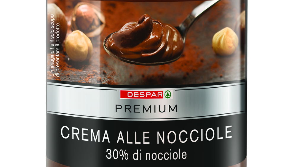Despar, arriva la nuova spalmabile al cacao con marchio di ingrediente Fairtrade
