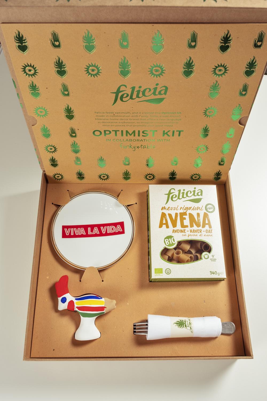 L'Optimist box di Felicia inaugura la nuova era dell'alimentazione