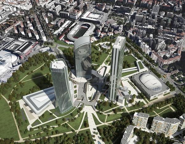 Sonae Sierra svilupperà il centro commerciale di City Life Milano