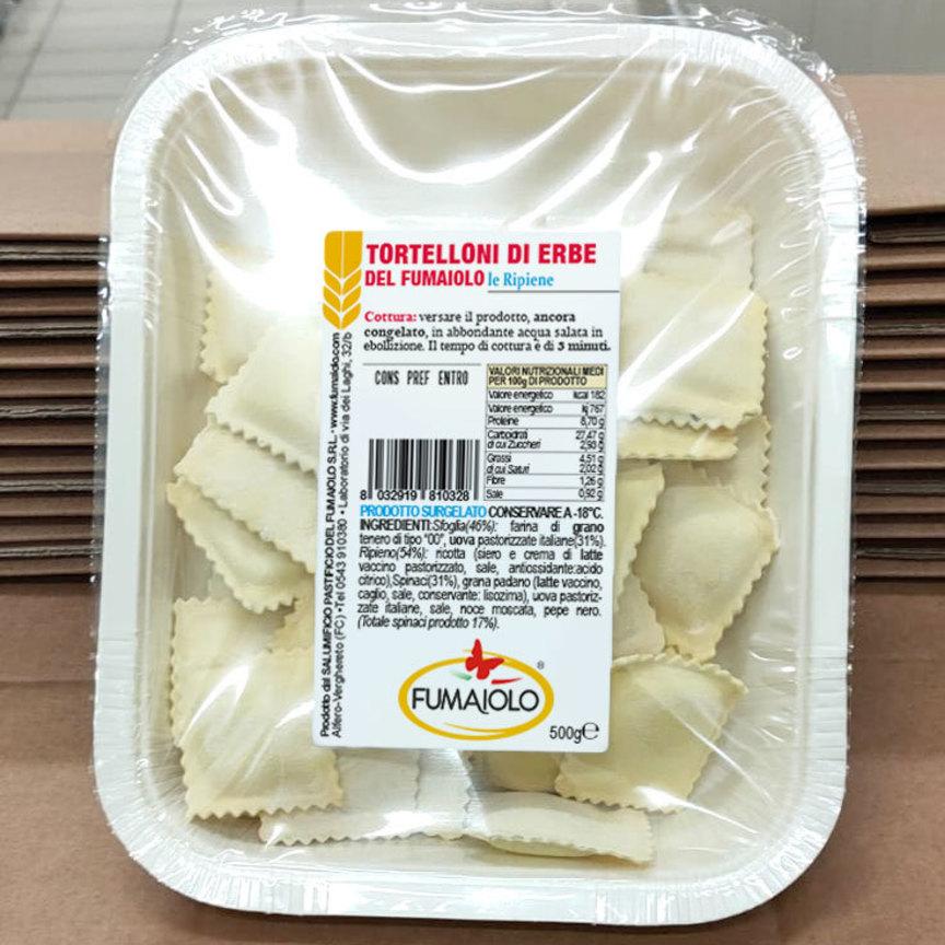 Fumaiolo sceglie la sostenibilità: le vaschette che contengono i prodotti dell'azienda romagnola ora sono compostabili