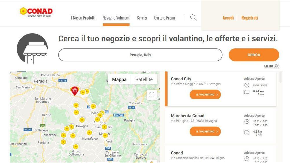 Conad: nuova apertura a Perugia