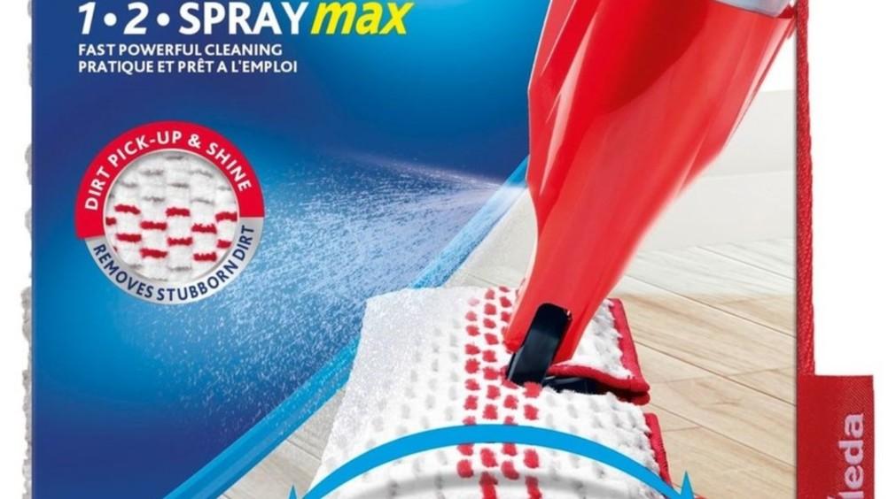 Vileda presenta il nuovo sistema lavapavimenti 1-2 spray max