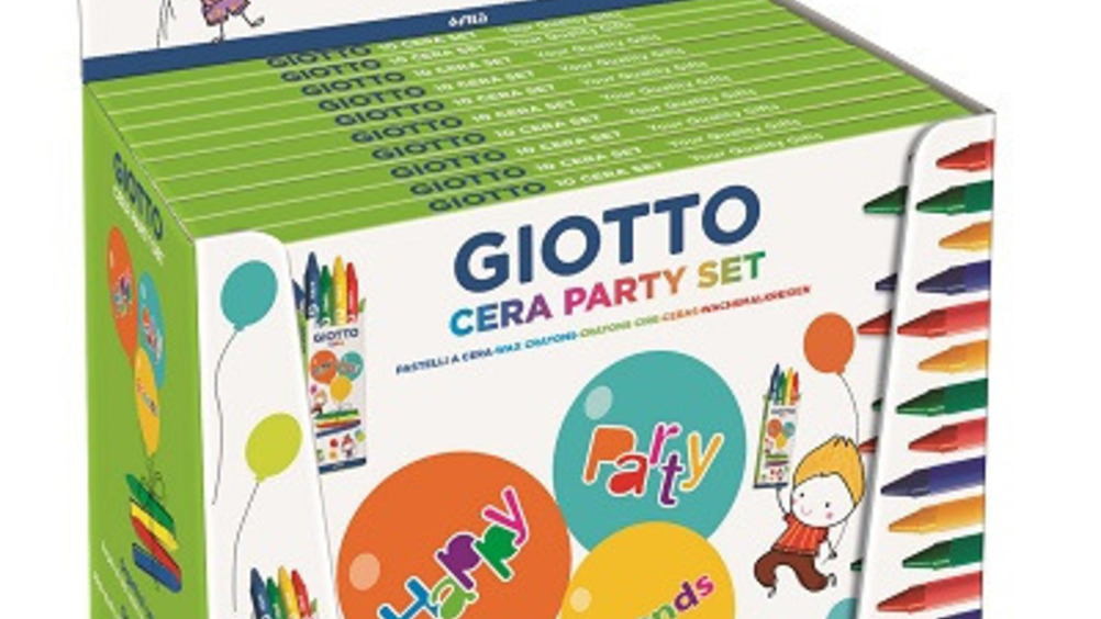 Giotto Cera Party Set