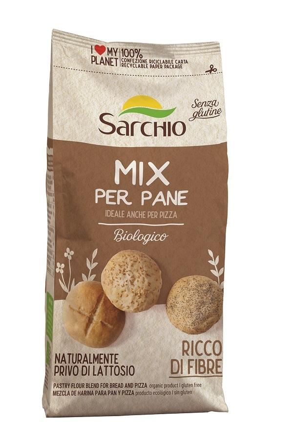 Sarchio lancia nuovi Mix biologici e gluten free per panificati dolci e salati