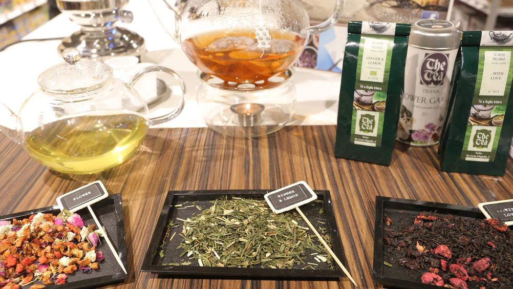 La proposta di tè e infusi arriva da tutto il mondo