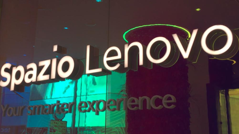 Spazio Lenovo Inaugura a Milano