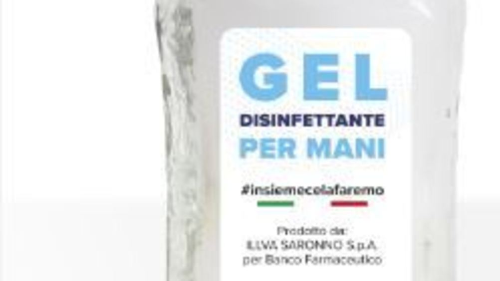 Illva Saronno dona 100.000 gel disinfettanti