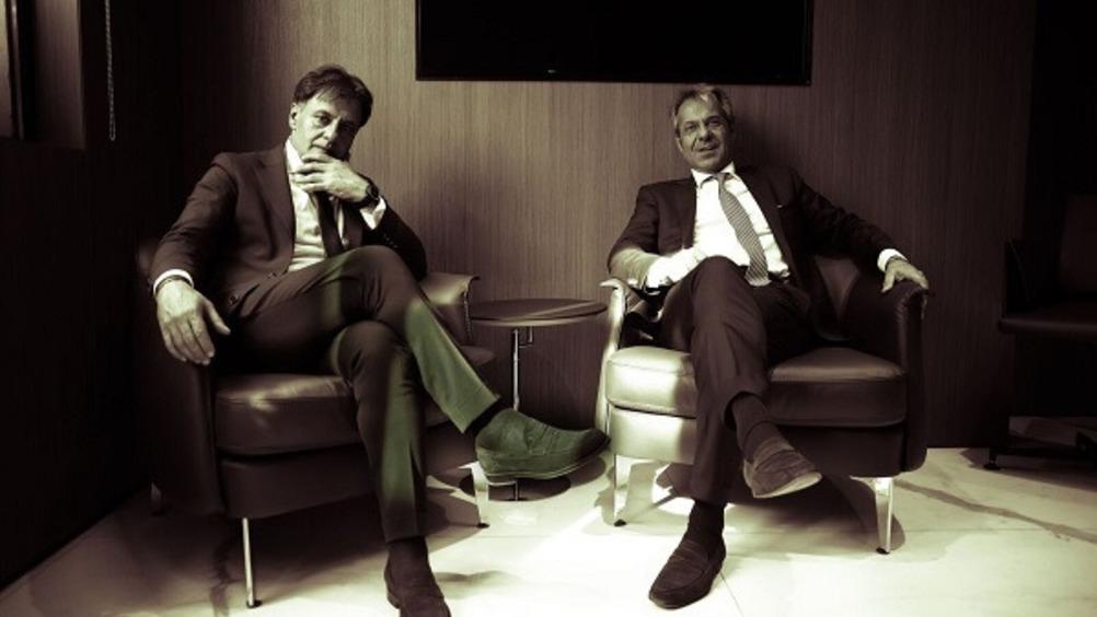 Da sinistra, il presidente Nicola Mastromartino e Giorgio Santambrogio, AD di Gruppo VéGé