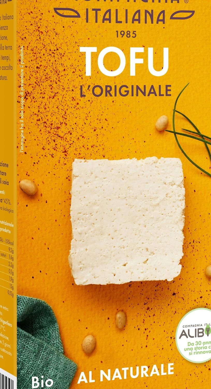 Compagnia Italiana propone Tofu l'originale