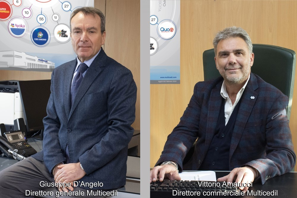 Multicedi nomina D'Angelo direttore generale e Amatucci direttore commerciale