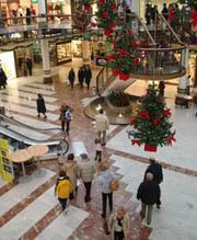Spese natalizie in calo