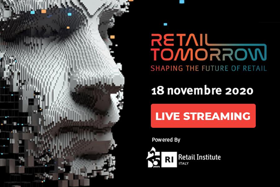Retail Tomorrow 2020: in diretta streaming il 18 novembre l'appuntamento annuale dedicato all'innovazione nel retail