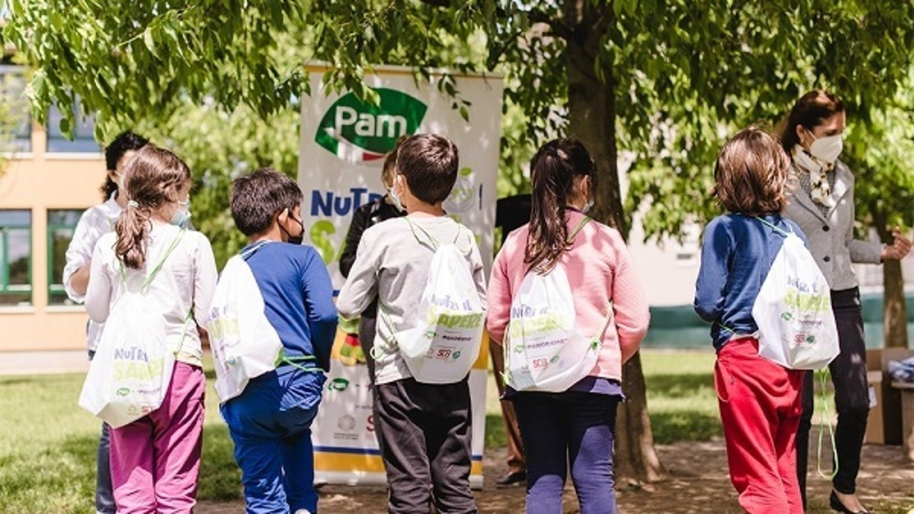 """Pam Panorama presenta il progetto """"Nutri il sapere"""""""