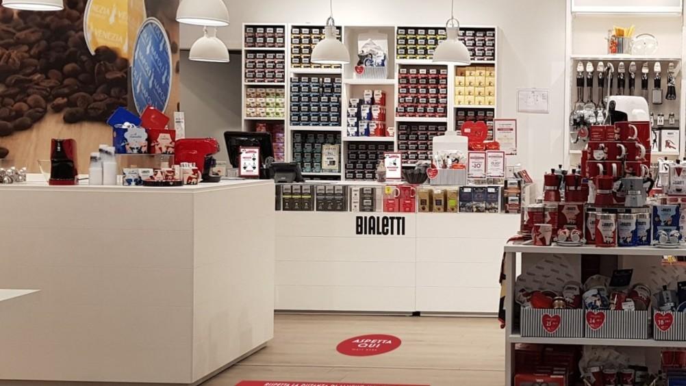Bialetti riapre i suoi 110 store