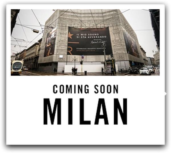 Starbucks Milano Cordusio apre in autunno 2018 e parte con le assunzioni