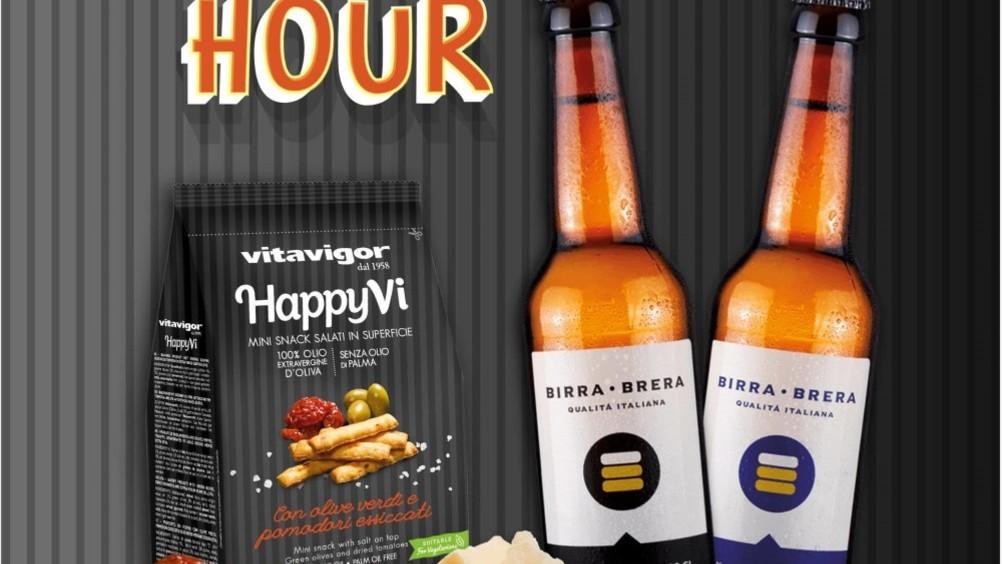 Vitavigor sigla una partnership con birra Brera