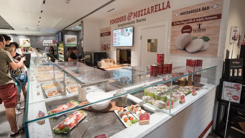 Pomodoro&Mozzarella: materie prime selezionate