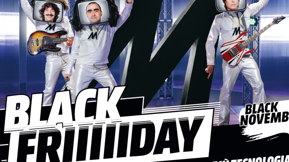 Mediaworld continua il Black friday