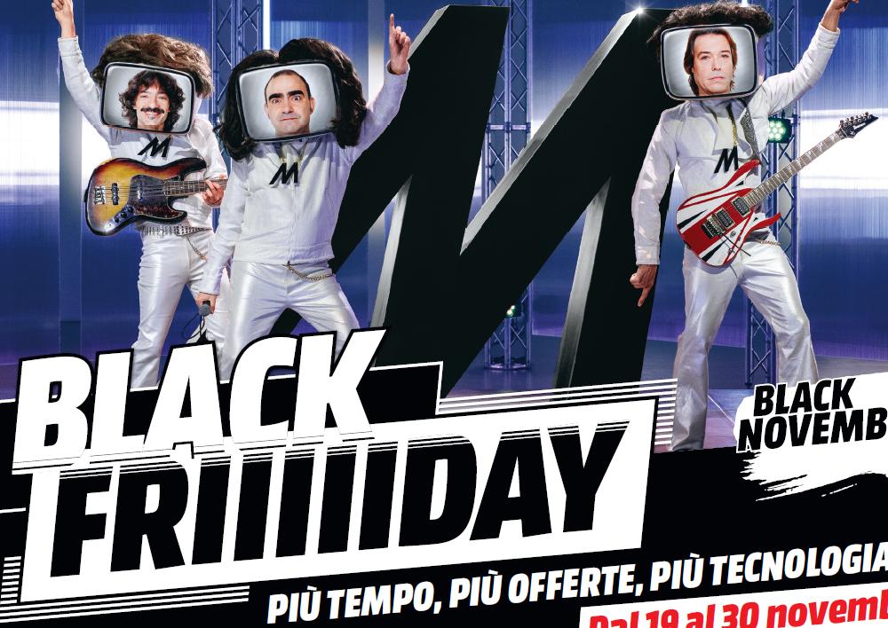 Mediaworld continua il Black friday
