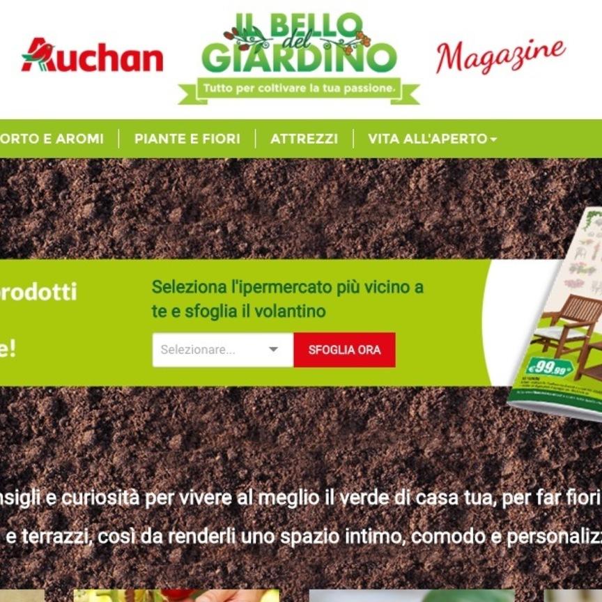 Auchan avvia l operazione il bello del giardino for Auchan dondolo da giardino