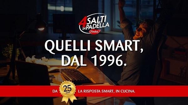 Quattro Salti in Padella celebra i suoi 25 anni con una consumer promo