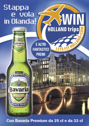 Vola in Olanda con Bavaria Holland Beer