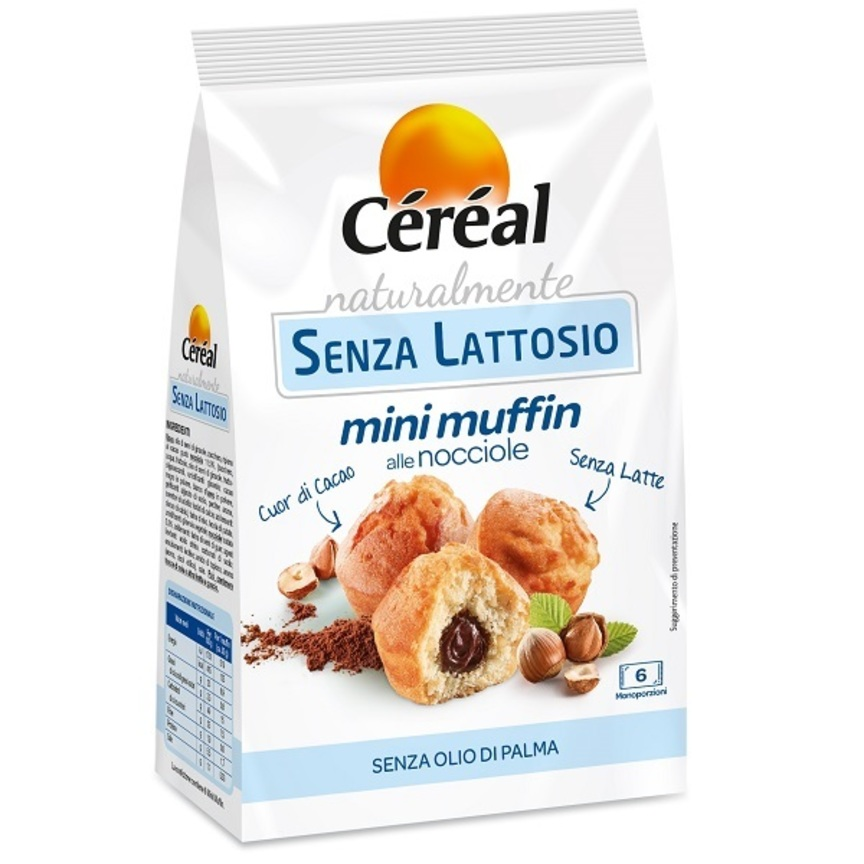 Céréal presenta i Mini Muffin alle nocciole