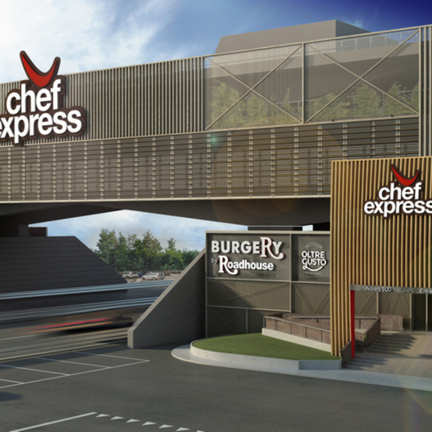 Chef Express ricostruisce a Novara l'area di servizio di Mario Pavesi