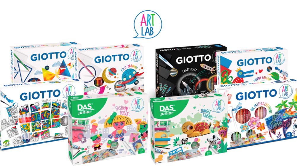 Arrivano in TV gli Art Lab di F.I.L.A. firmati Giotto e Das Junior