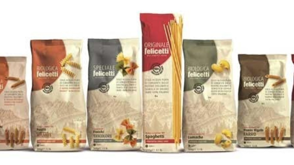 Pastificio Felicetti: rebranding e nuovo packaging 100% carta