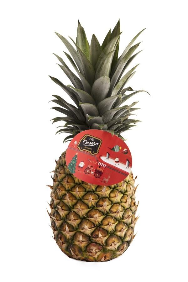 F.lli Orsero presenta l'ananas in versione natalizia