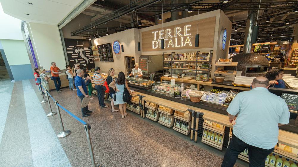 'Terre d'Italia', un altro must dell'iper di Carugate