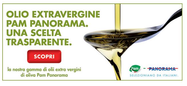 In arrivo l'olio Evo a marchio Pam Panorama