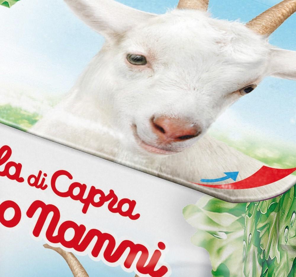 Nonno Nanni: nasce la nuova linea 100% latte di capra