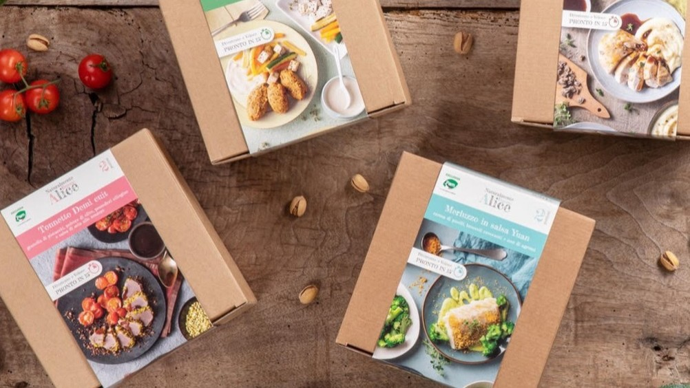 Pam Panorama presenta Alice meal kit
