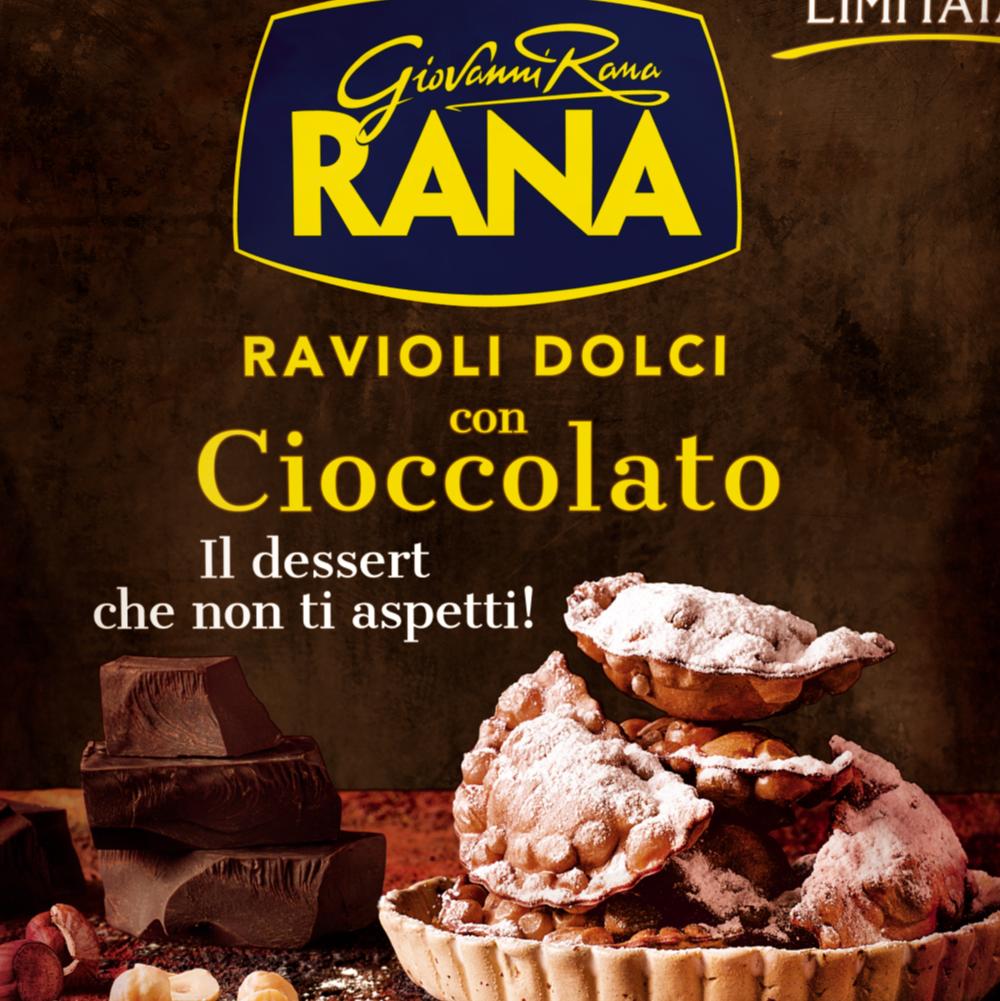 Pastificio Rana lancia in edizione limitata i Ravioli dolci con cioccolato