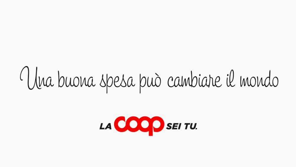 Coop torna on air con un nuovo spot