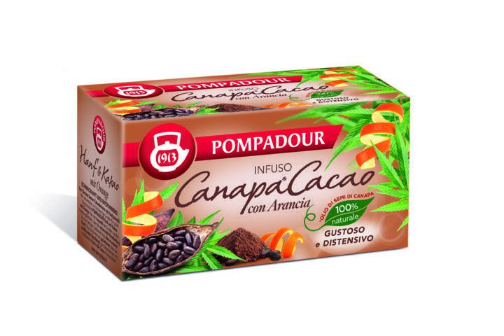 Pompadour lancia tre novità con olio di semi di canapa