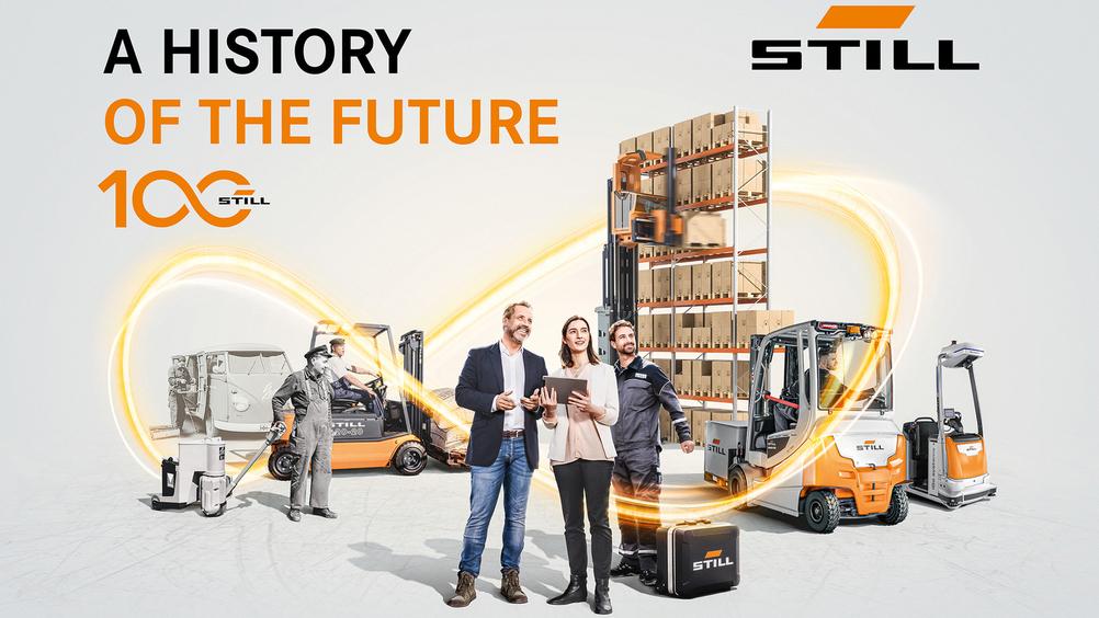A history of the future: Still compie 100 anni